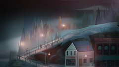 Oxenfree_20160615211851 (arturous007) Tags: oxenfree playstation ps4 playstation4 pstore psn horror sciencefiction sf teenager share art artwork 2d bluehair ghost radio
