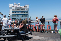 Pier 27 Grand Princess 5-2016 (daver6sf@yahoo.com) Tags: cruiseship portofsanfrancisco grandprincess pier23 jhp pier27 conversetennies