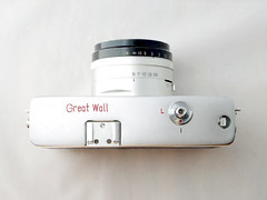 Great Wall SZ-1 12 () Tags: china camera bw white black classic film 35mm vintage beijing rangefinder retro