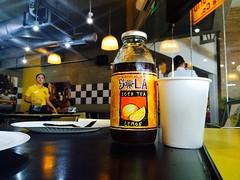 #Sola Lemon Iced #Tea at #YellowCab #pizza while waiting : ) (hijo_de_ponggol) Tags: lemon waiting tea yellowcab pizza while iced sola