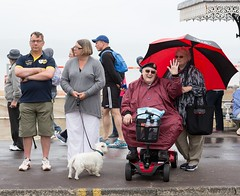 181/366  Veterans Weekend, Weymouth - 366 Project 2 - 2016 (dorsetpeach) Tags: wet rain umbrella parade dorset 365 veteran weymouth 2016 366 veteransparade aphotoadayforayear 366project second365project