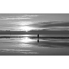 Crosby beach (CdL Creative) Tags: england canon geotagged lancashire antonygormley sefton anotherplace crosbybeach l22 50d cdlcreative geo:lat=534764 geo:lon=30457
