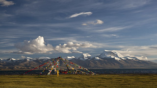 Prayer Flags at Lake Manasarovar