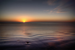 Bridlington Beach (Chris McLoughlin) Tags: morning winter beach sunrise northsea hdr bridlington chrismcloughlin sal1855 sonya580