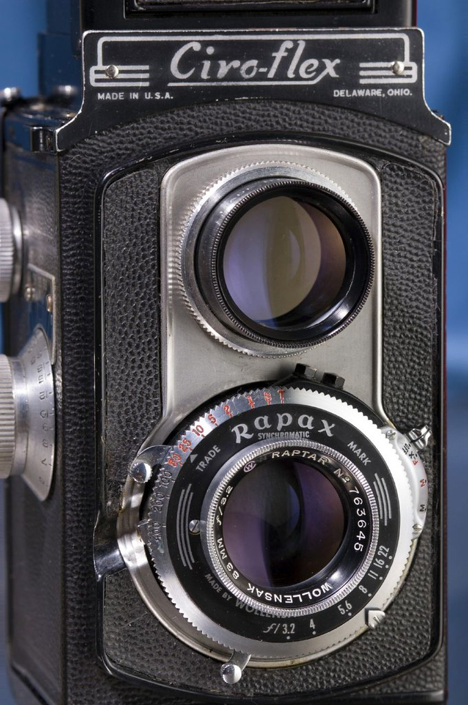 Ciro Flex Model F 83mm Raptar PhotoShop Guru Tags 120 Tlr Film