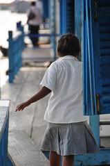 Camboida - Floating School (Floating village) (Joey KY Li) Tags: poverty school love kids children boats cambodia pretty god books floatingvillage floatinghouse hardlife
