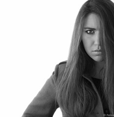 I'm not angry (Pensa-Art) Tags: portrait blackandwhite white selfportrait black art noir autoportrait noiretblanc angry blanc pensa colre pensaart