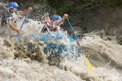 Yeah Boy !! on the Sun Kosi river Adventure rafting and Kayaking trip