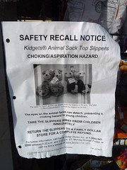 Recall the Kidgets!