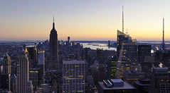 New York is the perfect model of a city, not the model of a perfect city... (ferpectshotz) Tags: newyorkcity roof winter sunset cold rock windy midtown empirestatebuilding rockefellerplaza freedomtower mygearandme mygearandmepremium