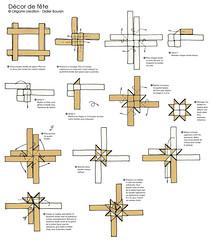 Origami création - Didier Boursin - Diagramme Décor de fête