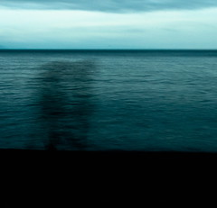 becoming part of (Vasilis Amir) Tags: longexposure sea abstract motion blur beach silhouette square landscape moving experimental ghost move transparency transparent slowspeed  mygearandmepremium vasilisamir