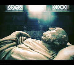 Last Breath (peterphotographic) Tags: uk england statue beard manchester memorial cathedral britain breath tomb marble breathe expire hss manchestercathedral tombstome lastbreath canong12 sliderssunday camerabag2 img6082cb2skaterccrossedwm
