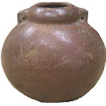 "<b>Jar</b><br/> ""Jar"" Earthenware, n.d. (Pre-Columbian) LFAC #2003:12:03<a href=""http://farm8.static.flickr.com/7054/6852263207_7873d58f7c_o.jpg"" title=""High res"">∝</a>"
