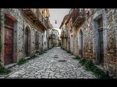 Ghost town (Diego Menna) Tags: vanishingpoint nikon ghosttown hdr decadenza d90 apice sannio challengeyouwinner nikond90 qtpfsgui apicevecchia pastfeaturedwinner bestofshining shiningexcellence diegomenna