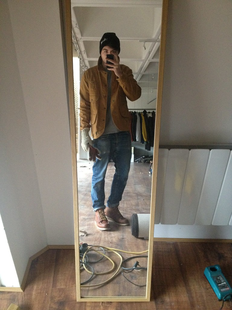 e76c7fc60aa5 waywt (mad frankie fraser) Tags  red lauren toe boots wing jeans jacket apc