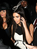Kim Kardashian arrives at Perez Hilton's Mad Hatter Tea Party Birthday Celebration in Hollywood Hollywood, California