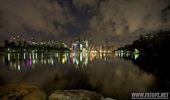 Brisbane Feb 2012 - About 3am (Josh Bakkum Imagery) Tags: city morning sky reflection art river rocks photographer arts australia brisbane josh bakkum wwwfstopznet joshbakkum