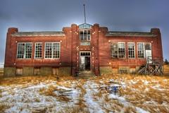 Hoosier School (Ken Yuel Photography) Tags: canada oldbuildings saskatchewan schoolhouse hoosier abandonedschools digitalagent kenyuel brickschools saskatchewanheritage