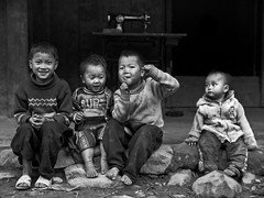 Hmong Gang I, Lao Chai - Sapa (adde adesokan) Tags: street travel people pen photography asia streetphotography documentary olympus vietnam ep3 streetphotographer m43 mft mirrorless microfourthirds theblackstar mirrorlesscamera streettogs addeadesokan