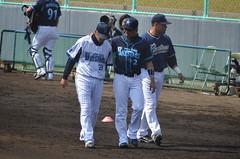 DSC_0731 (mechiko) Tags: 横浜ベイスターズ 120212 渡辺直人 藤田一也 横浜denaベイスターズ 2012春季キャンプ