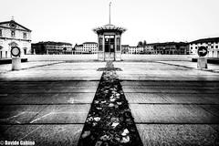 "Palmanova (""Strlic Furln"" - Davide Gabino) Tags: life street city travel winter urban italy white black landscape italia perspective friuli palmanova blackwhitephotos"