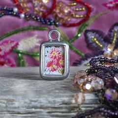 Learn One Thing A Day - Retro Charm (Alicja Radej Arte Ego) Tags: glass handmade oneofakind jewelry jewelery retrocharm