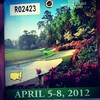 My ticket to The Masters