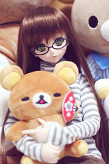 Akira... (iamapplepuff) Tags: akira dd dollfie volks dds rilakkuma  dollfiedream  dollfiedreamsister    dollfiedream