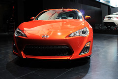 FR-S (Motoriginal) Tags: auto show new york red orange cars sports car japanese international subaru toyota scion jdm nyias brz frs ft86 gt86
