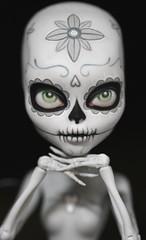 Bone (Kittytoes) Tags: monster dayofthedead skeleton skull high cam sugar diadelosmuertos create mattel calavera a melancholykitties