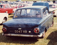 Ford Cortina Mk1 in 1989 (Lazenby43) Tags: cortina mk1 2047vb