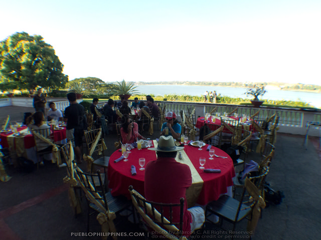 Malacañang of the North breakfast at Paoay Lake, Ilocos Norte