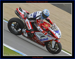 CARLOS CHECA #7 (Wings & Wheels Photography.) Tags: wsb bdp worldsuperbikes 2011 doningtonpark canoneos7d althearacing ducati1198r carloscheca7 bluediamondphotographic