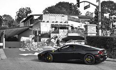 3 6 0. (AESDUB) Tags: california red yellow del lights mar 360 ferrari murdered ferarri calipers caliphers