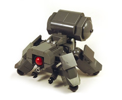Think Tank (MacLane) Tags: lego ghostintheshell mecha thinktank shirow