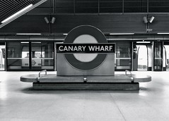 Canary Wharf (David S Wilson) Tags: uk england london underground docklands canarywharf photostream 2012 jubileeline lul