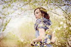 Model ~Miroslava Kytkov~ (andrea.vackov) Tags: jar strom portrt kvety jarnportrt
