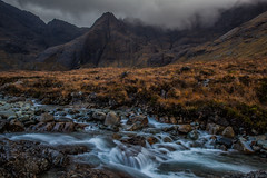 Fairy Pools (Boyd Hunt) Tags: mountain skye clouds river scotland highlands rocks fairy pools