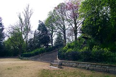 Steps To Avenham Tower (CottonGilly) Tags: park trees sculpture art history water animals river scenery walk steps lancashire views preston greenery walkways paths rockery pathways avenham