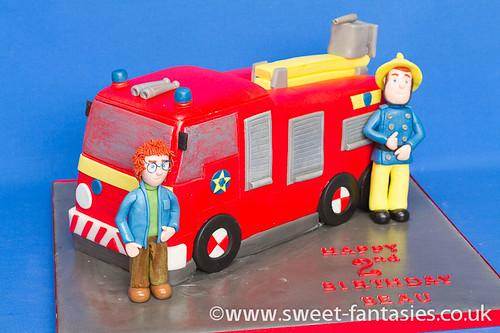 Fireman Sam, Norman & Fire Engine