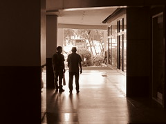 IMG_6051 (cess044) Tags: street city shadow white black silhouette sepia canon point is shoot metro weekend philippines sunday powershot manila pointandshoot makati amateur beginner metromanila 2013 a3300 a3300is