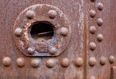 steam crane detail 01 apr 13 (Shaun the grime lover) Tags: museum wales rivets industrial hole mud crane rusty steam machinery slate llanberis quarry boiler rivet ddu gilfach dinorwic dinorwig