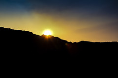 """""""Mountains"""" of the Quarry (KamrenB Photography) Tags: kamgtr kamrenb photography photo quarry sun set sunset kamren b water sky saturated color colors nature landscape outdoors top flare canon 600d t3i chiang mai thailand asia shadow silhouette yellow blue orange edge"""