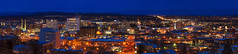 Spokane Panorama (Gabriel Tompkins) Tags: park city longexposure urban panorama usa architecture washington twilight nikon spokane cityscape view dusk pano scenic pacificnorthwest vista bluehour nikkor washingtonstate viewpoint pnw gloaming 18105 cliffdrive d90 2013 inlandnorthwest 18105mm nikond90 18105mmf3556gvr tronam gabrieltompkins edwidgewoldson