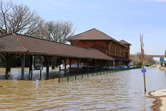 No Trains Today (JayLev) Tags: water station train river flood peoria rockisland illinoisriver iais iowainterstate tzpr