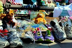 Running Shoes (Read2me) Tags: she memorial shoes dof many sneakers ge cye friendlychallenges thechallengefactory pregamechallengewinner