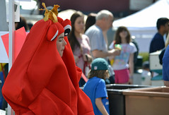 Lobster Man (MTSOfan) Tags: fun costume community lobster springtime lambertvillenj shadfest shadfestival