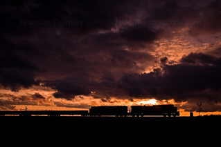 Norfolk Southern 170 at Sunset