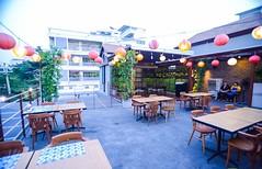 Rooftop ร้านอาหารญี่ปุ่น บรรยากาศน่านั่ง จากร้านเทนวะ [Tenwa Restaurant] ทองหล่อซอย10